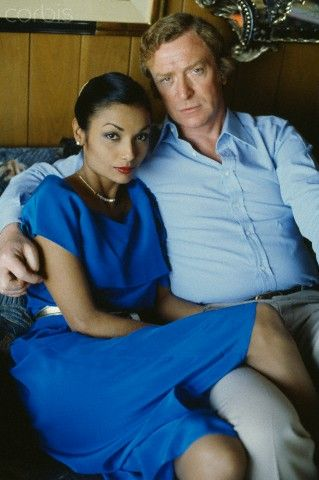 michael and shakira caine in their youth. that leg claims territory.