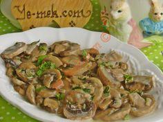 Kremalı Mantar Sote Resimli Tarifi - Yemek Tarifleri