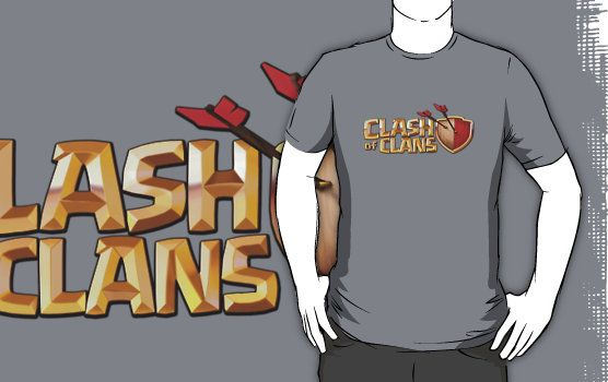 Clash of Clans T-shirts for our AWESOME hosts