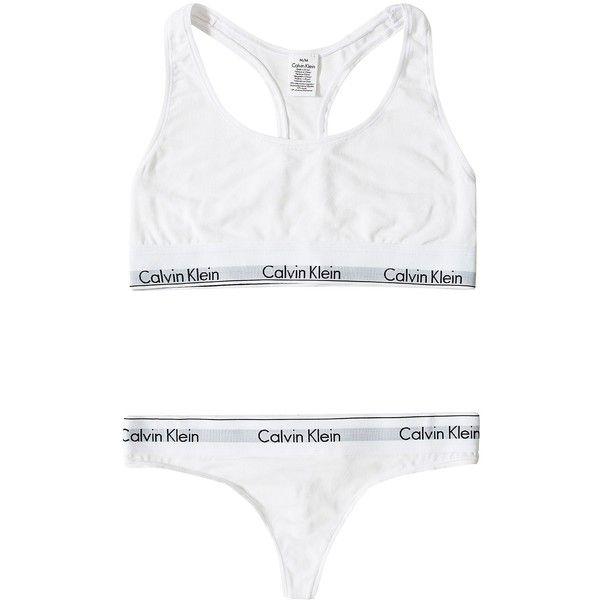Bralette (€35) ❤ liked on Polyvore featuring intimates, bras, underwear, lingerie, tops, calvin klein lingerie, calvin klein bra, bralette bras, calvin klein and lingerie bra