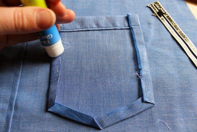better sometimes than pins or bastingn: my 4 favorite shirtmaking tools
