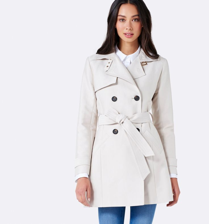 Tina trench coat Cream - Womens Fashion | Forever New