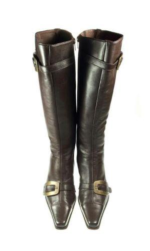 Hoge bruine soepel lederen laarzen van Spiral, maat 39. Tante Twiggy Shop <3 www.marktplaats.nl/verkopers/20281615.html leren leather high boots