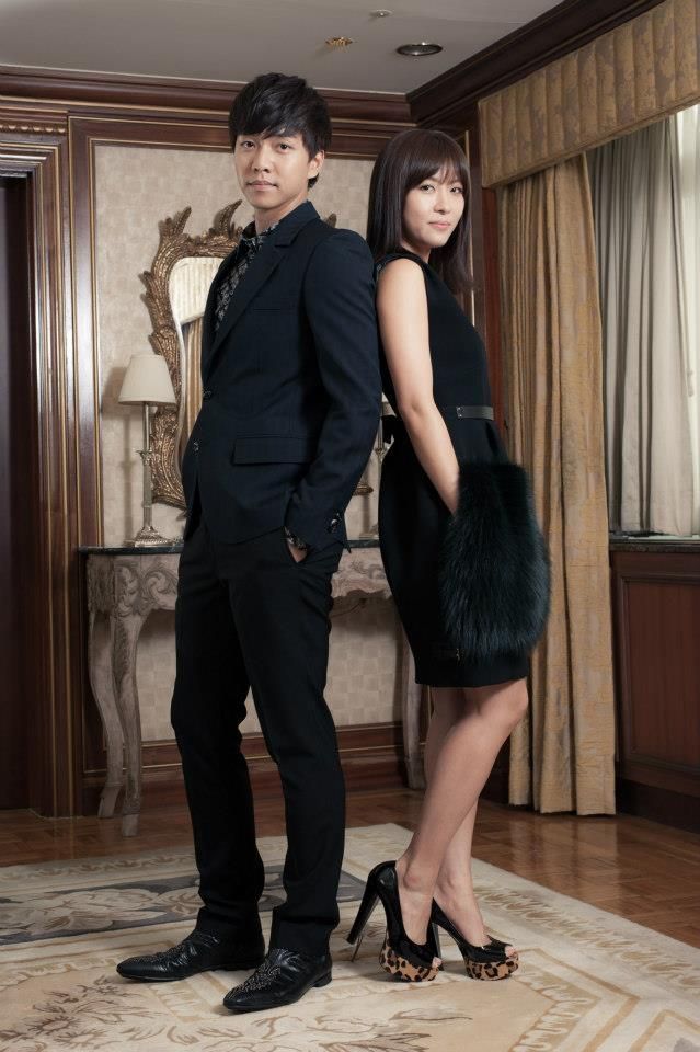 Lee Seung Gi and Ha Ji Won for The King 2 Hearts Japan Promotion