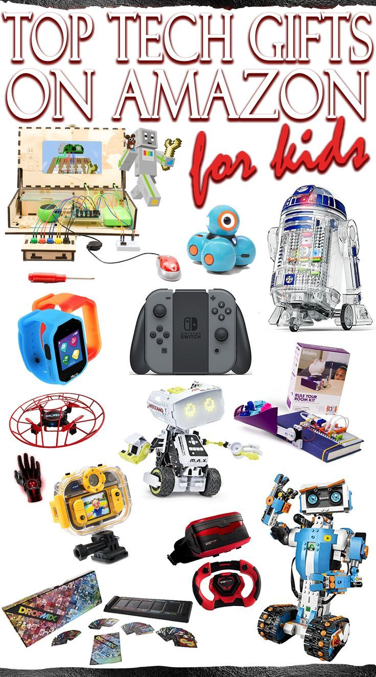 Top Tech Gifts for Kids on Amazon. These toys are educational but so much fun you'd never even know! Shop for Christmas, birthday presents & more!