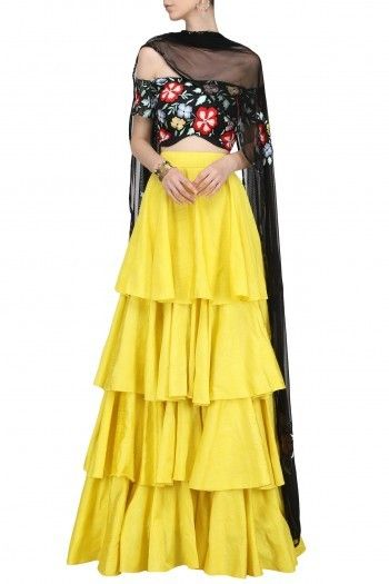 d7a35091ac51bd Ank by Amrit Kaur | The New Asian Outfit | Lehenga, Embroidered ...