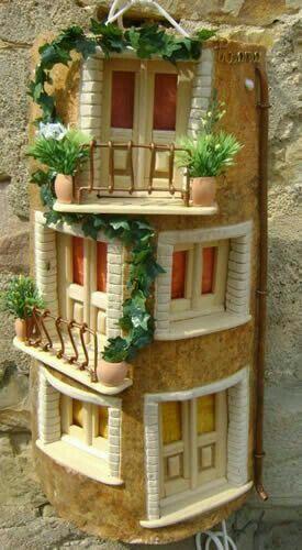 1044 mejores im genes sobre tejas en pinterest arte de for Puertas de tejas decoradas