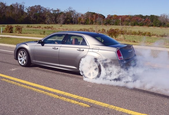 2012 Chrysler 300 SRT8 - Full test drive and review at: http://www.automotiveaddicts.com/25826/2012-chrysler-300-srt8-review-test-drive