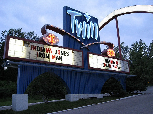 Twin Drive In, Independence                           The ONLY place you can wear pjs!