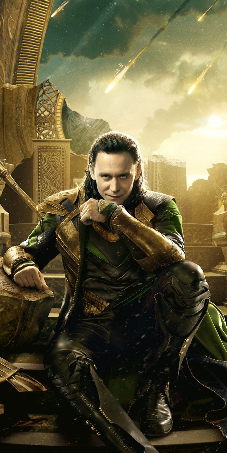 Thor: The Dark World | Loki Character Poster. Original ...