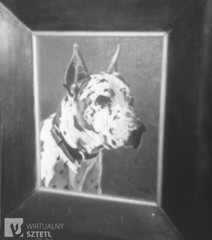 Amon Goeth's dog painting - 1944