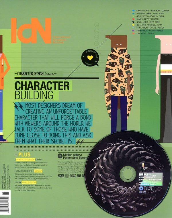 IdN v19n6: Character Design Issue – Character Building