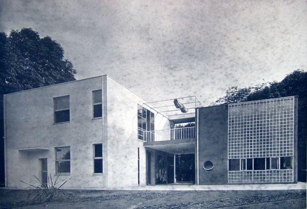 Giuseppe terragni casa sul lago per l 39 artista alla mostra dell 39 abitazione v triennale di - Casa dell ottone milano ...