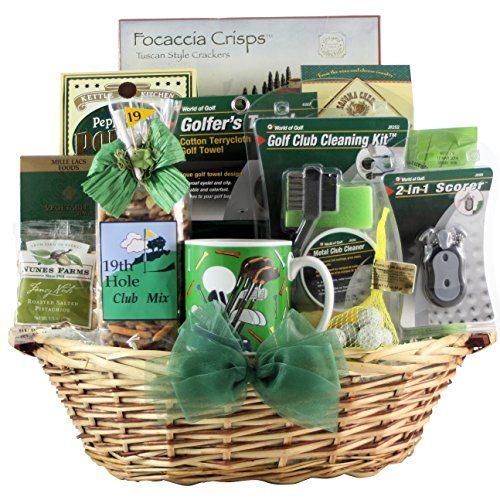 GreatArrivals Gift Baskets Golfer's Delight, Gourmet, Golf Gift Basket, 6 Pound -- Details can be found by clicking on the image.