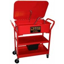 Black Bull PPWASH20 Portable Parts Washer with 20 Gallon Capacity!