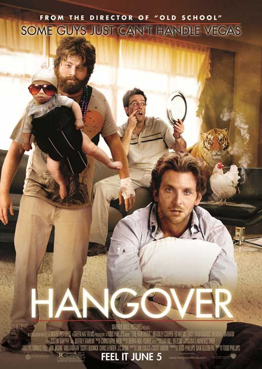 The Hangover (2009) - favorite movie, hilarious!!