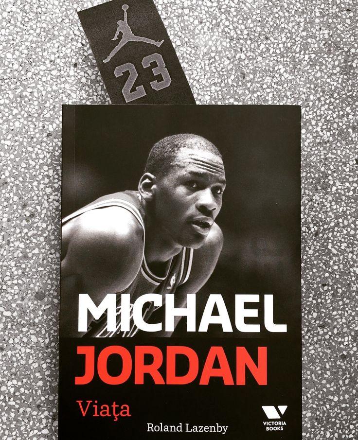 """""""Michael Jordan. Viața"""" – biografia completă, de Roland Lazenby, în seria Victoria Books. #michaeljordan #biography #victoriabooks"""