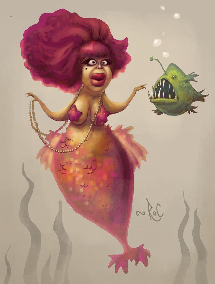 Roc alemany - Carmen de Mairena - www.rockyvision.com // www.rocalemany.com #mermaid #sirena #mairena
