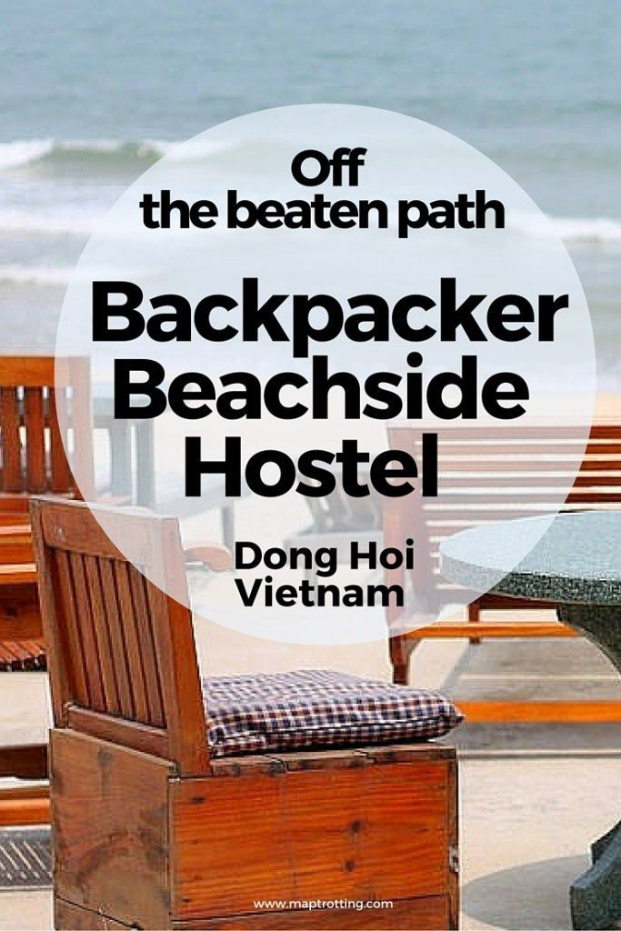 Backpacker Beachside Hostel in Dong Hoi, Vietnam