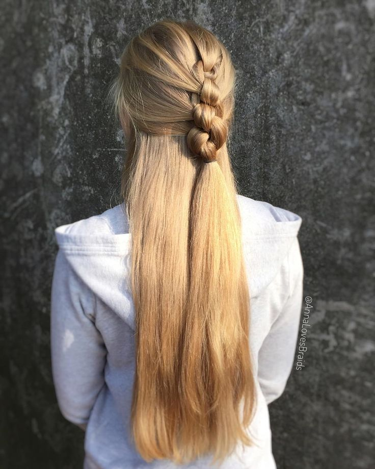 3-minute hairstyle – and not even braided! I have a strand at the back of my head …, #frisur #braided #hinterhead #minute #not #strain, '# fas …