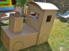 Cottoncloud: Tren de cartón / Cardboard train                                                                                                                                                                                 Más
