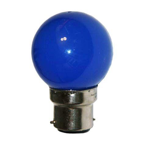 Ampoule LED SMD 4 couleur 0,62W 30lm - BLEU - B22