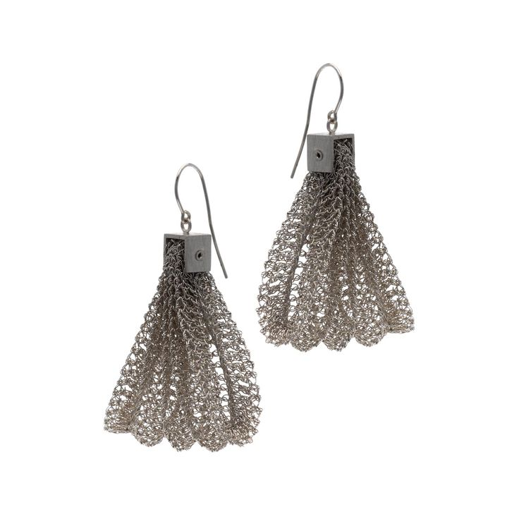 Earrings - Pleated Collection by FROU FROU