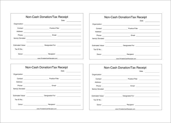 Donation Receipt Templates 17 Free Printable Word Excel Pdf Samples Donation Form Receipt Template Donation Letter