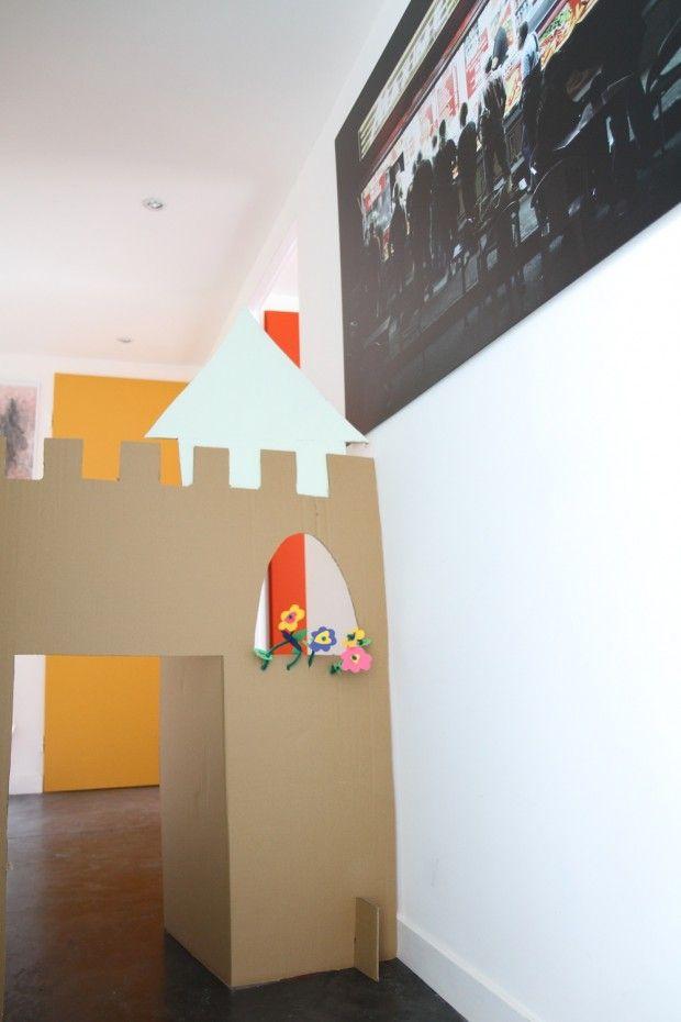 1000 id es sur le th me ch teau en carton sur pinterest chateau boite en carton ch teau de. Black Bedroom Furniture Sets. Home Design Ideas