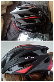Nimrodel AT´s Foto, Bastel- und Produkttestblog: Ac Topp Fahrradhelm