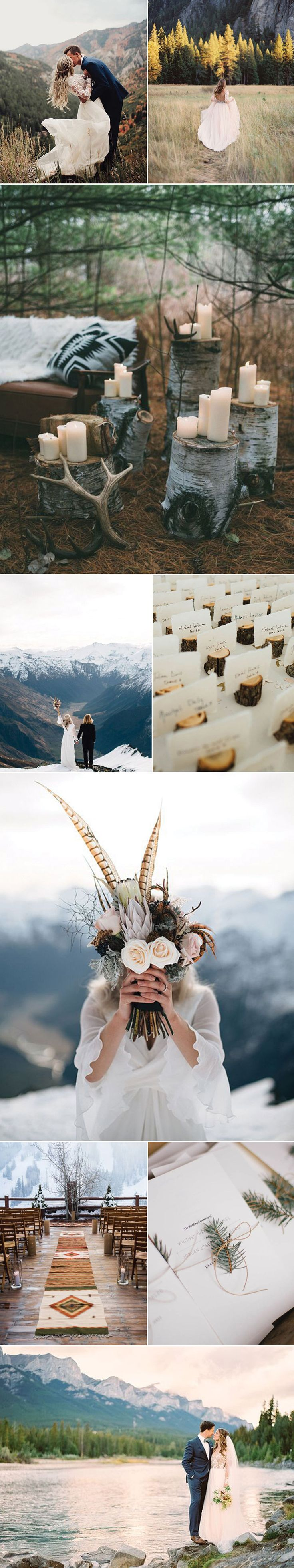 Mountain Weddings can be filled with adventure and are absolutely breathtaking.