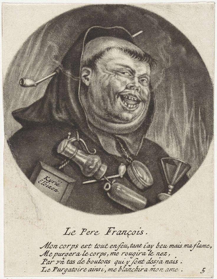 Rokende franciscaan, Jacob Gole, 1670 - 1724