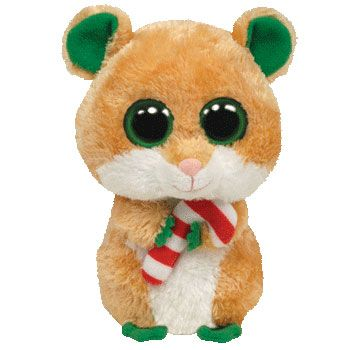 TY Beanie Boos - CANDY CANE the Mouse (Regular Size - 6 inch)