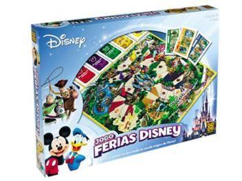 Jogo Férias Disney Tabuleiro - Grow