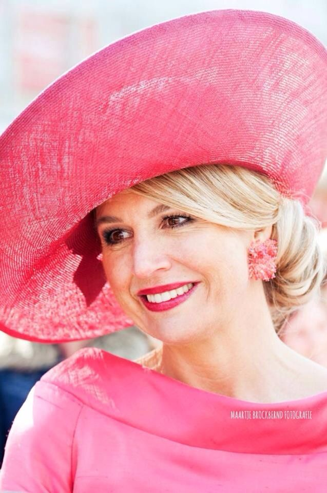 Queen Maxima of the Netherlands.