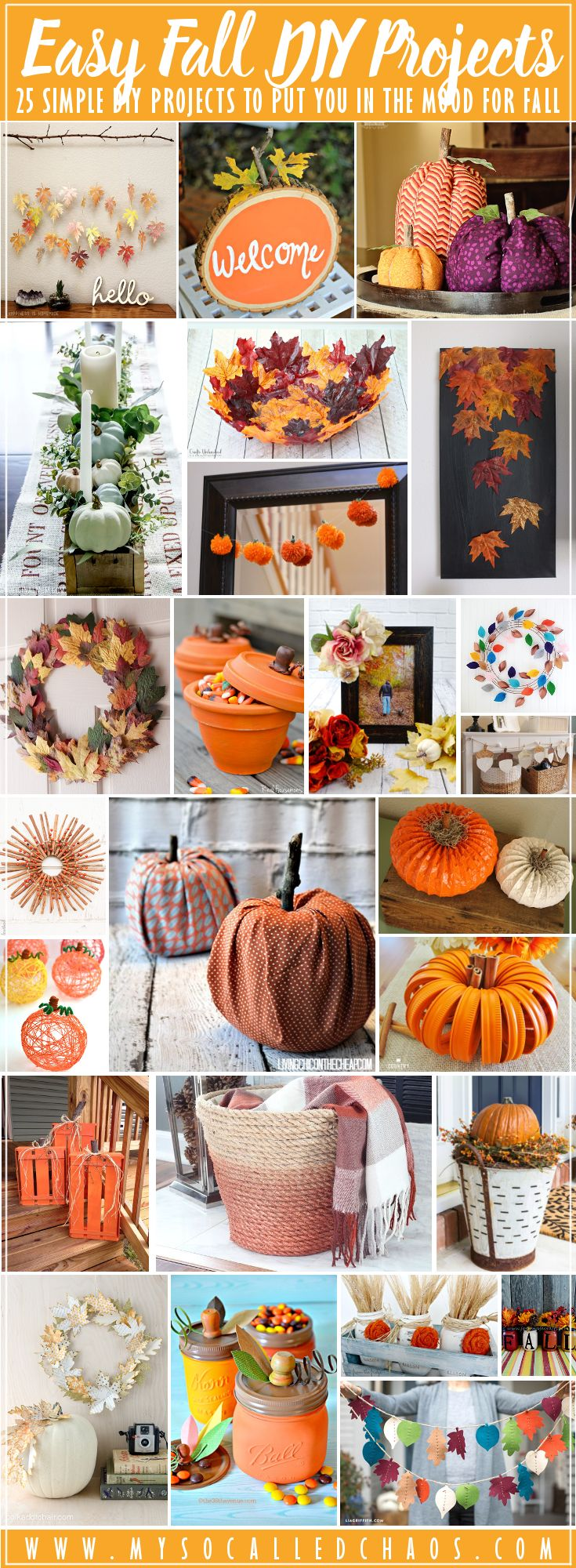25 Easy Fall DIY Projects to Put