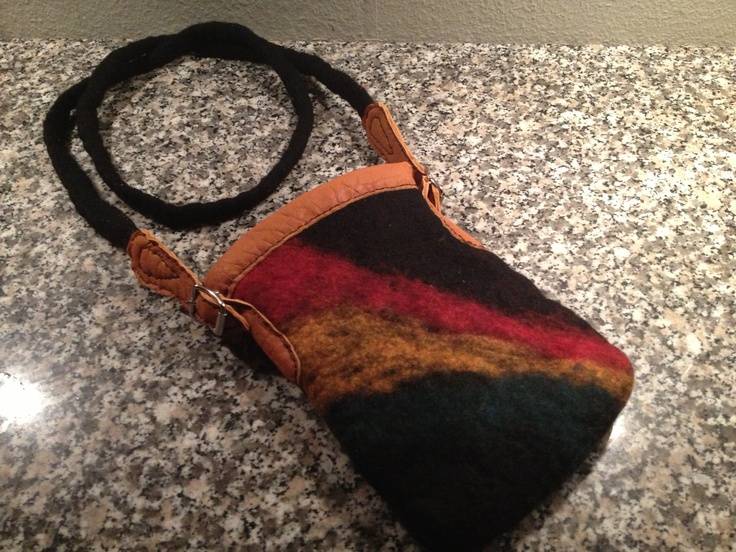 Felted bag.