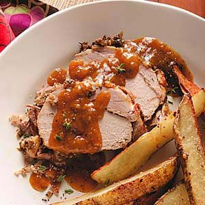 Roast pork recipe taste