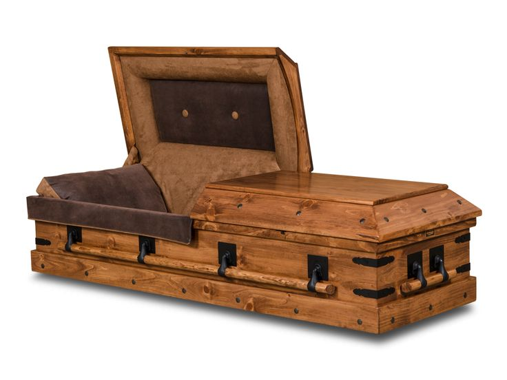 Blacksmith Pine Hardwood Casket