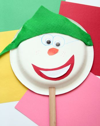 Activities: Make Popsicle Puppets...and Practice Communication