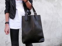 Miss POSH - real leather bag by KAMILA LIMA bags and more