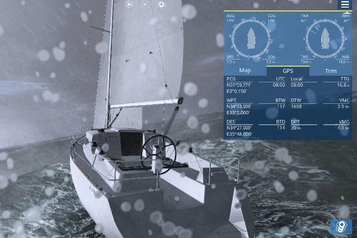 Sailaway, un simulateur de voile proche du réel