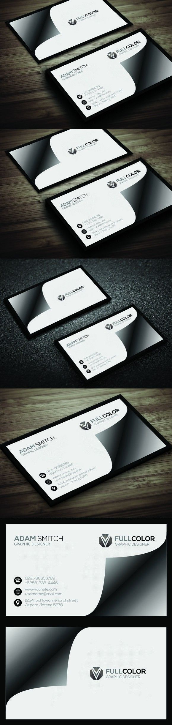 1190 Best Business Card Templates Images On Pinterest Business