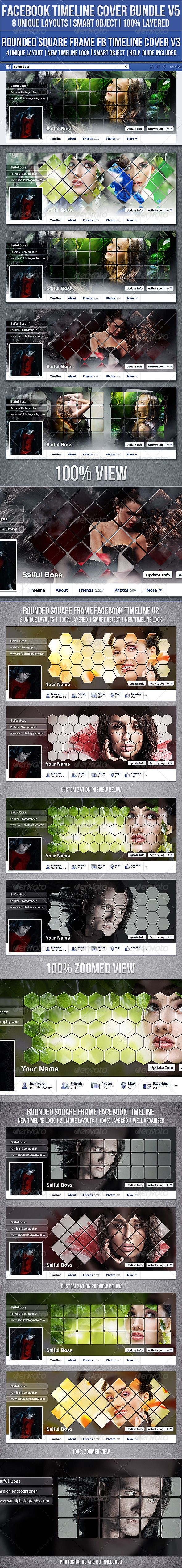 Facebook Timeline Cover Bundle V5 — Photoshop PSD #wordpress #woocommerce • Available here → https://graphicriver.net/item/facebook-timeline-cover-bundle-v5/8332599?ref=pxcr