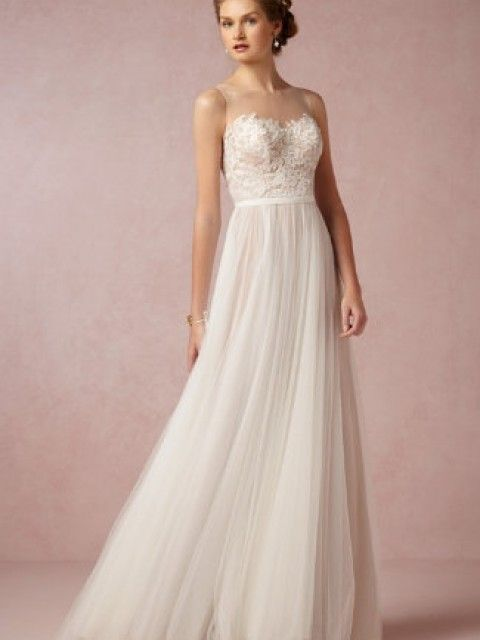 BHLDN Penelope Gown Size 2 Wedding Dress – OnceWed.com