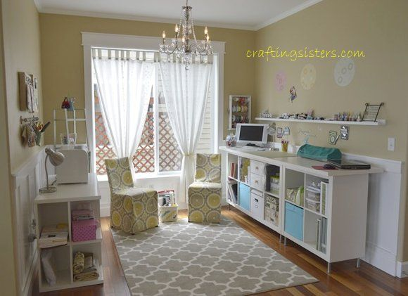 Craft Room on a  budget