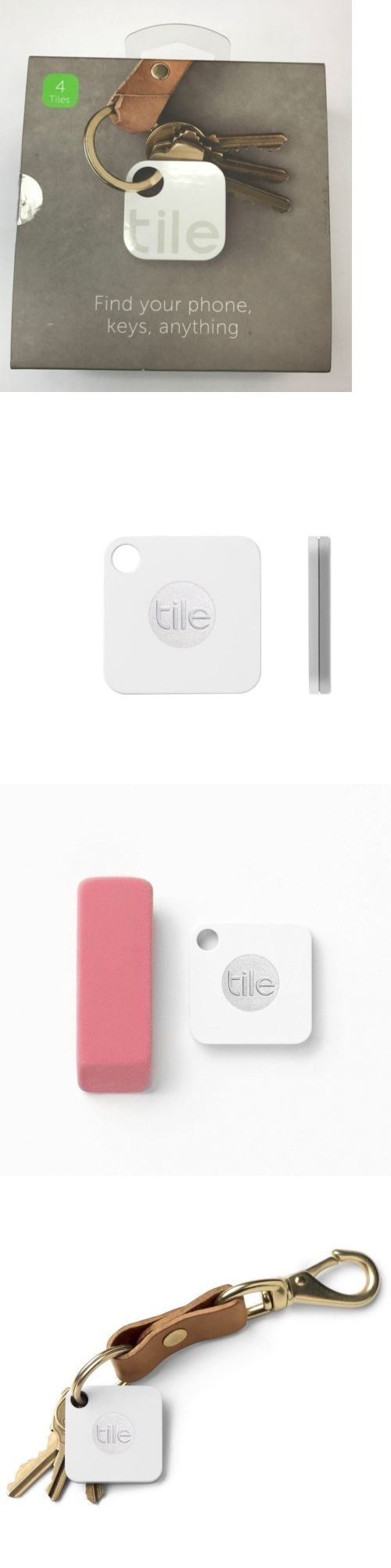 Tracking Devices: Tile Mate - Bluetooth Key And Phone Finder (4 Pack) -> BUY IT NOW ONLY: $53.95 on eBay!