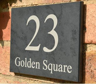 Custom House Signs & Personalised House Signs by Design A House Sign