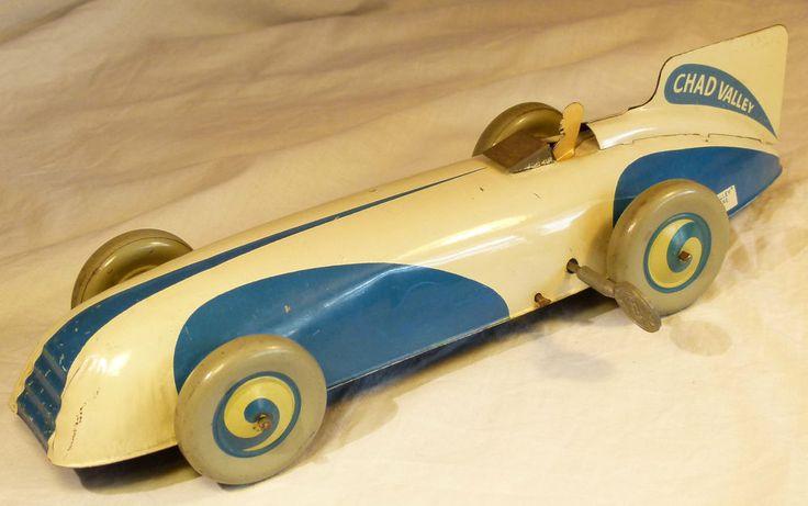 Tin Race Car