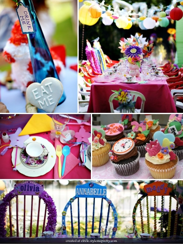 Alice in Wonderland Birthday Party Decoration Items